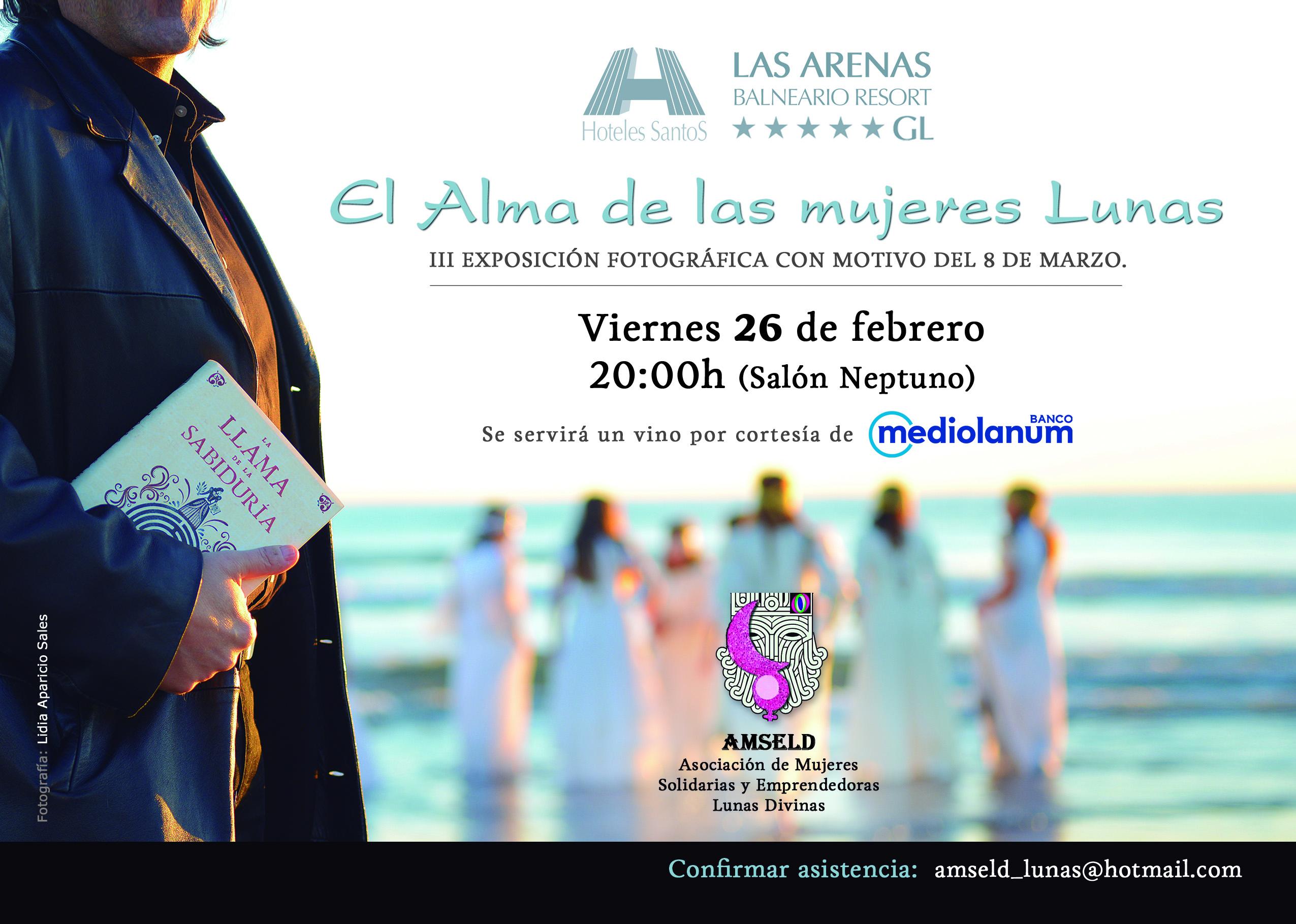 Flyer Hotel las Arenas LIDIA.INVITACIÓN FINAL