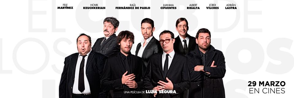 Protagonistas: Fele Martinez, Hovk Keuchkerian, Raúl Fernández de Pablo, JuanMa Ciuentes, Albert Ribalta, Jordi Vilches, Adrián Lastra.